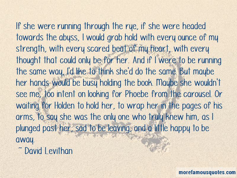 Leaving Book Quotes