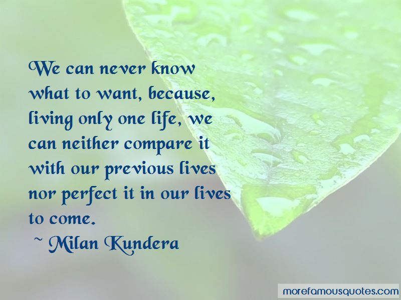 Life Can Never Be Perfect Quotes