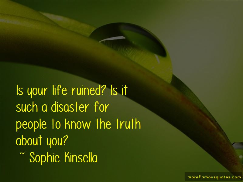 Life Ruined Quotes Pictures 2