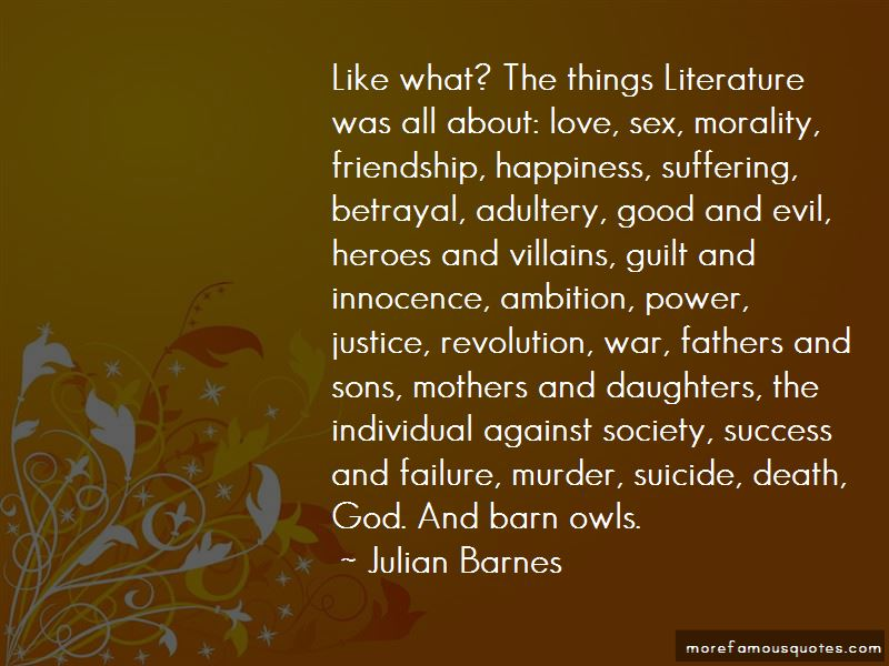 Literature And Morality Quotes Pictures 2