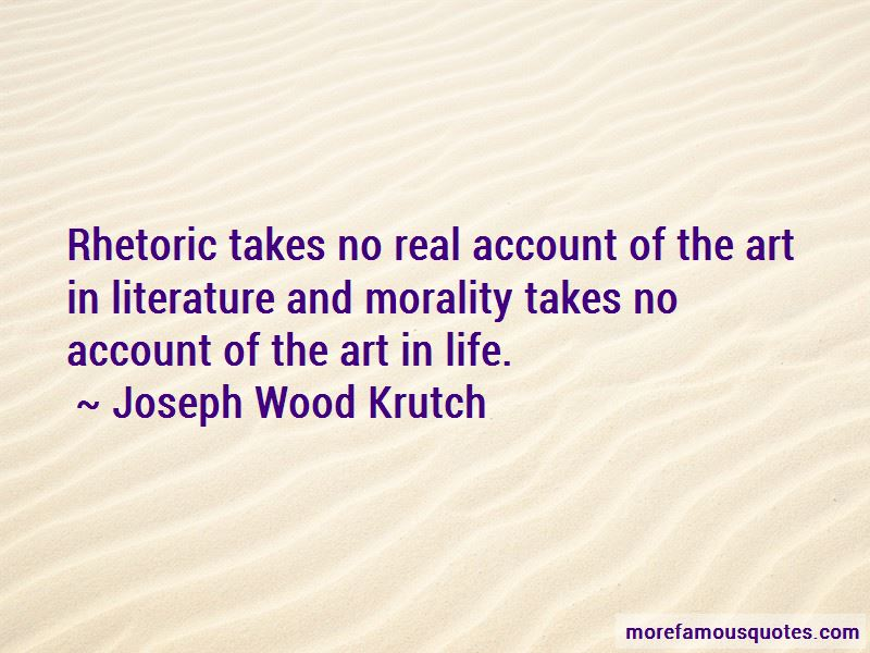 Literature And Morality Quotes