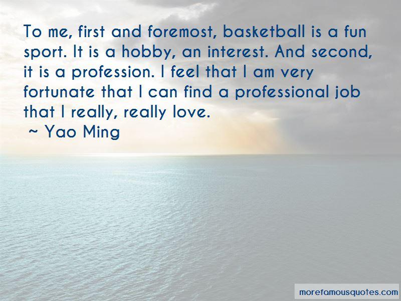 Love Profession Quotes