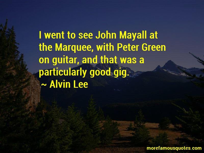 Mayall Quotes