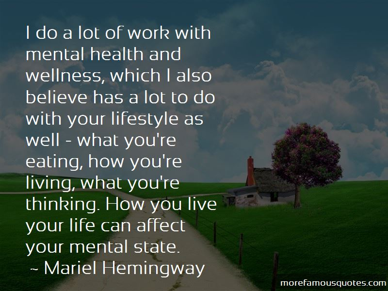 Mental Health And Wellness Quotes