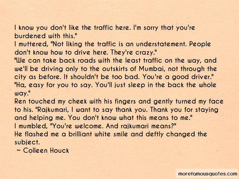 Mumbai Traffic Quotes Pictures 2