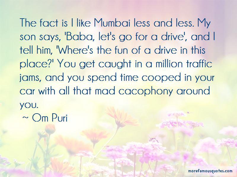 Mumbai Traffic Quotes Pictures 3