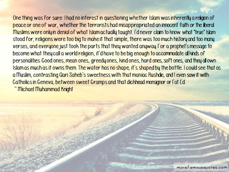 Muslim Personalities Quotes