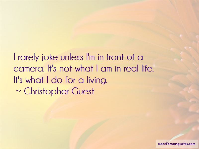 My Life Is Not A Joke Quotes