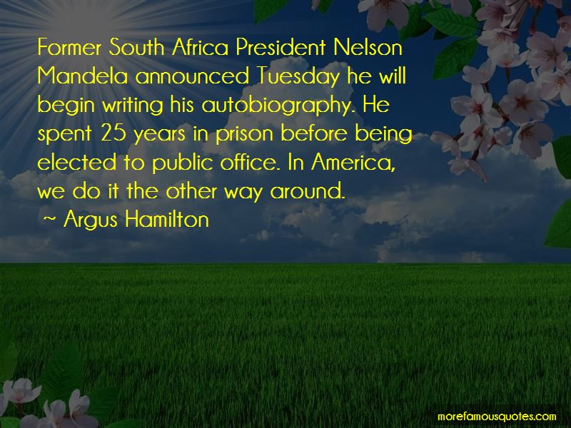 Nelson Mandela Autobiography Quotes Top 1 Quotes About Nelson