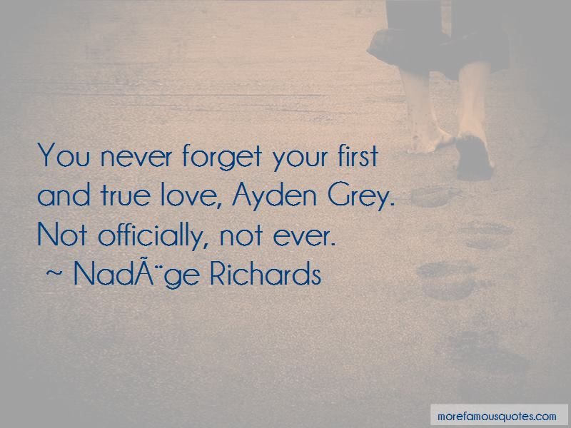Never Forget First Love Quotes Pictures 4