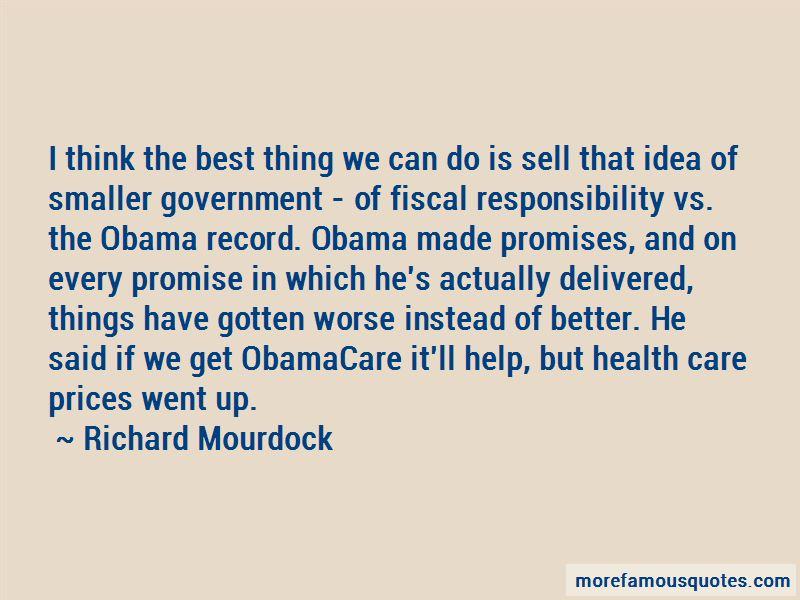 Obamacare Promises Quotes