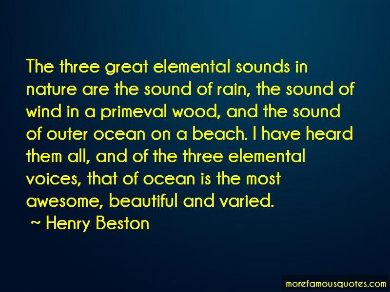 Ocean Sounds Quotes
