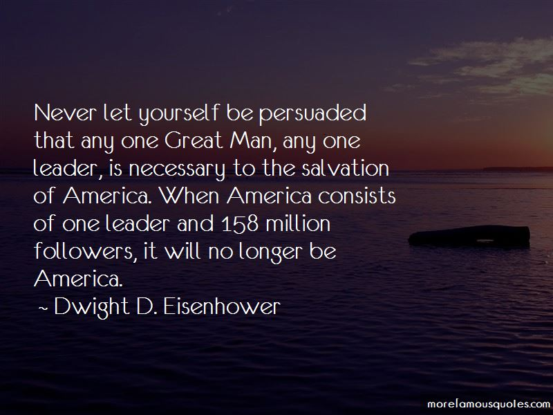 One Great Man Quotes