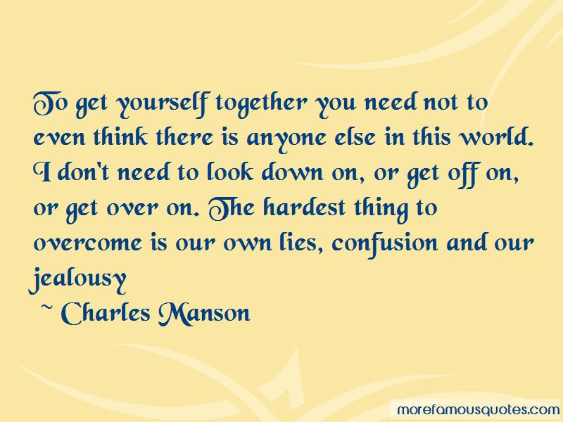 Overcome Jealousy Quotes