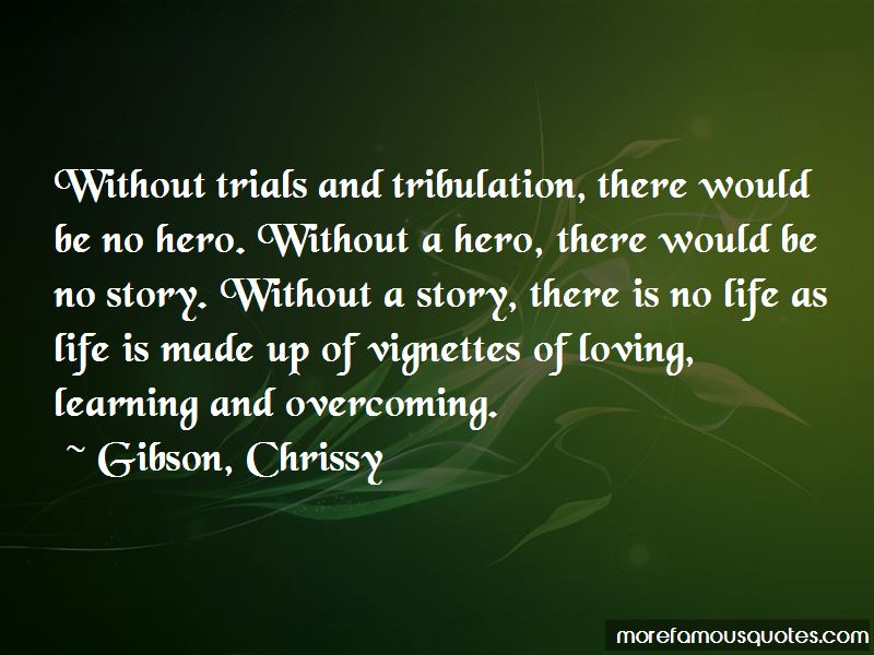 Overcoming Tribulation Quotes