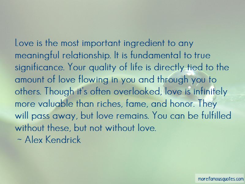 Overlooked Love Quotes