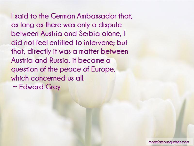 Peace Ambassador Quotes