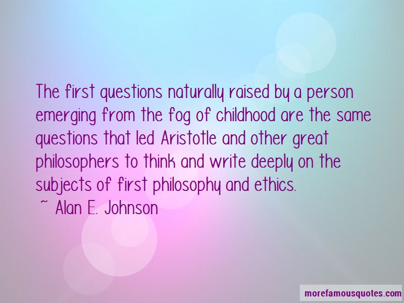 Philosophy And Ethics Quotes