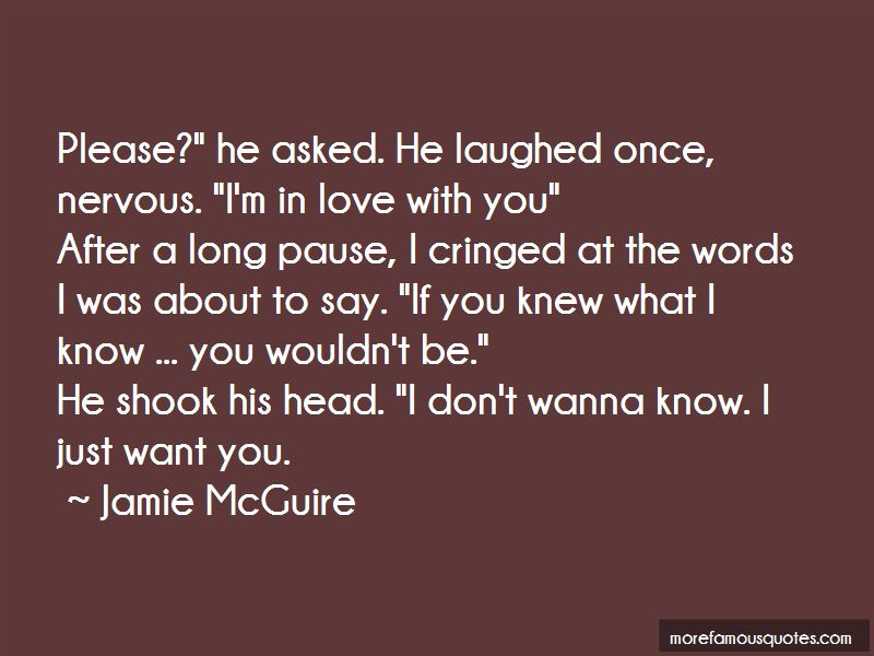 Please Say You Love Me Quotes: top 49 quotes about Please ...