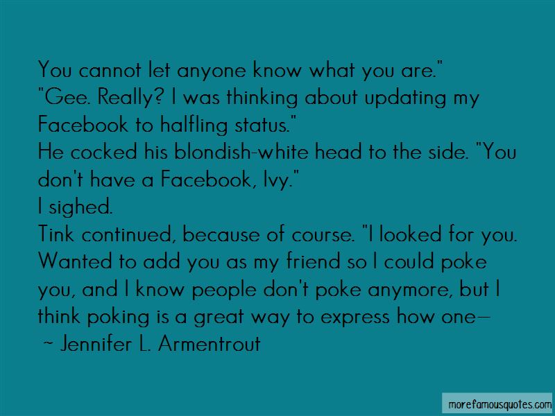 Poke You Quotes Pictures 3
