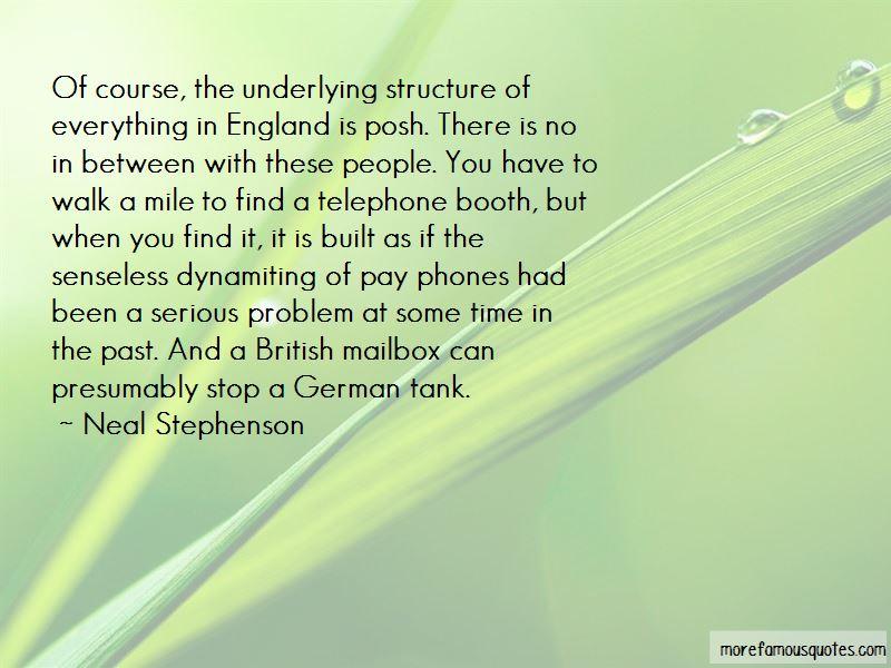 Posh British Quotes