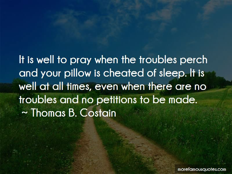 Pray All Is Well Quotes