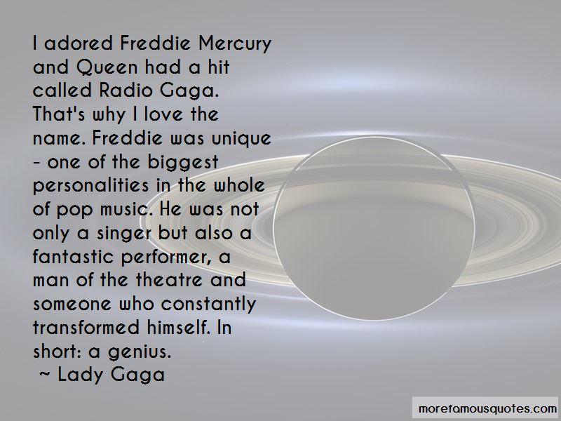 Queen Freddie Quotes