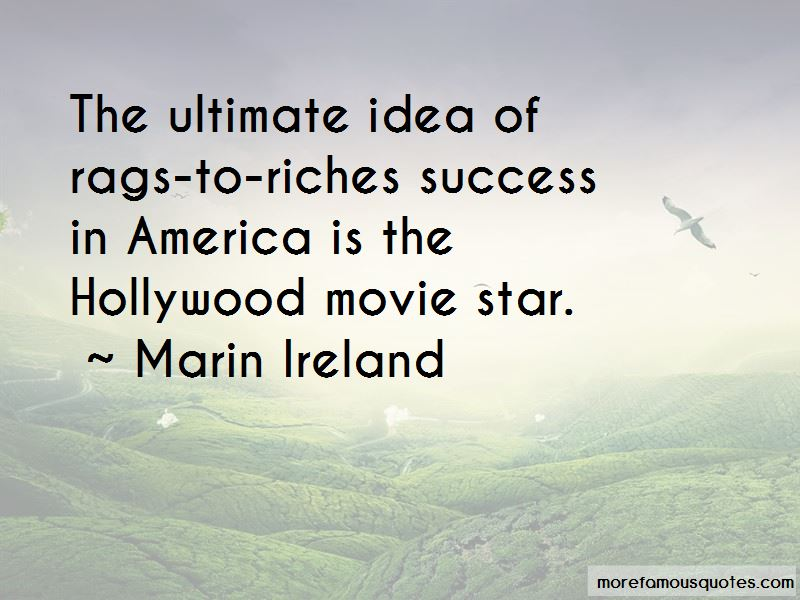 Rags To Riches Movie Quotes