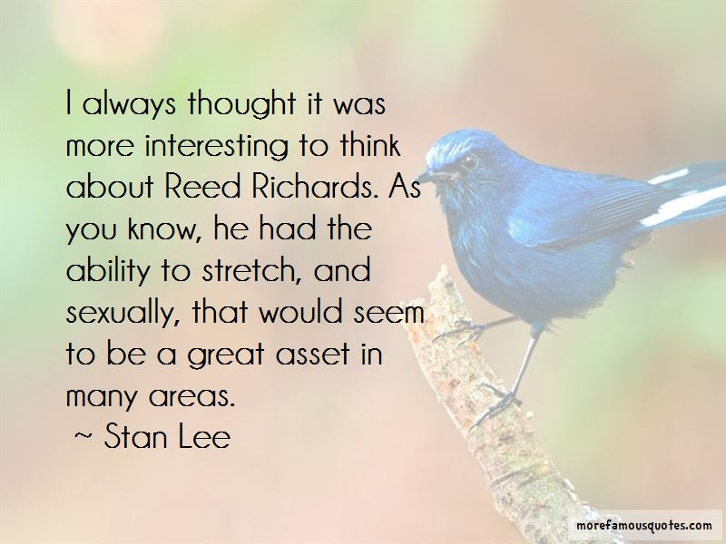 Reed Richards Quotes