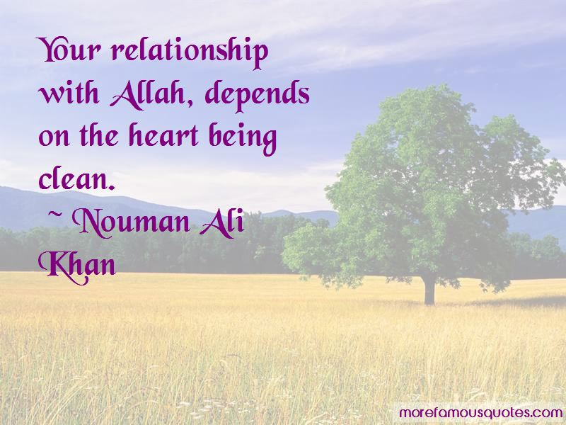 Relationship With Allah Quotes