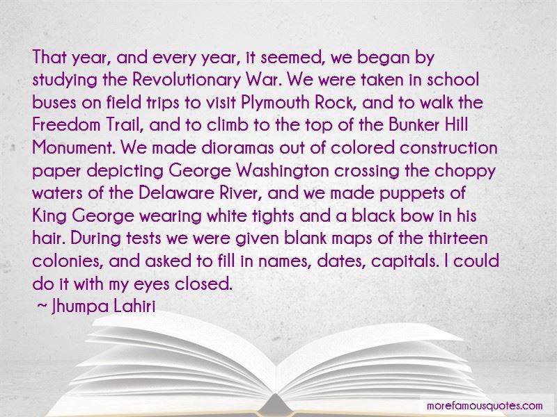 Revolutionary War Bunker Hill Quotes