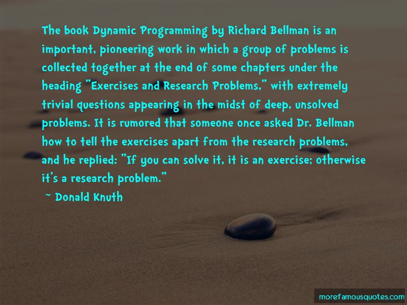 Richard Bellman Quotes