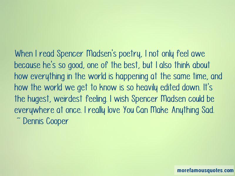 Sad Love Poetry Quotes