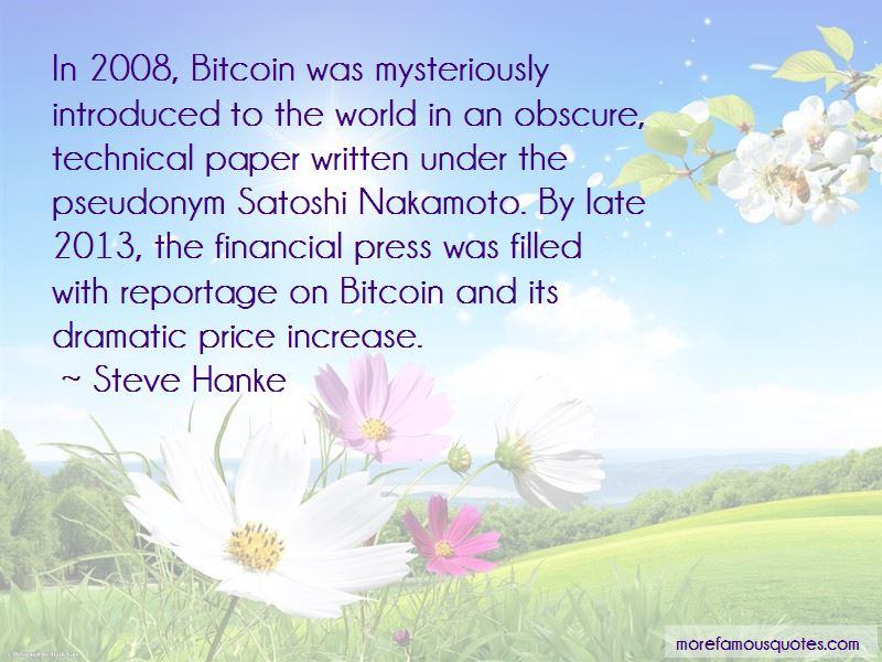 Satoshi Bitcoin Quotes