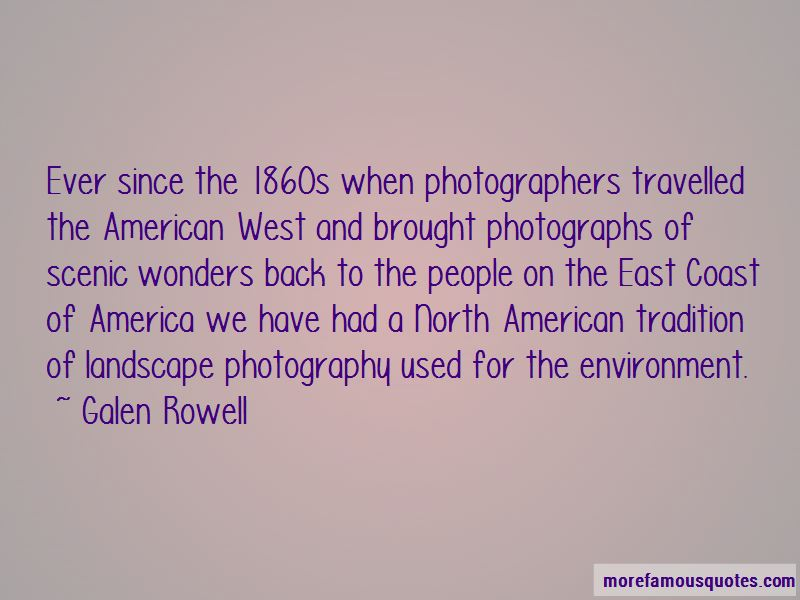 Scenic Photography Quotes