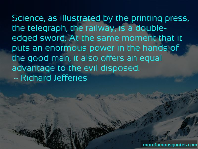 Science Is The Power Of Man Quotes Pictures 2