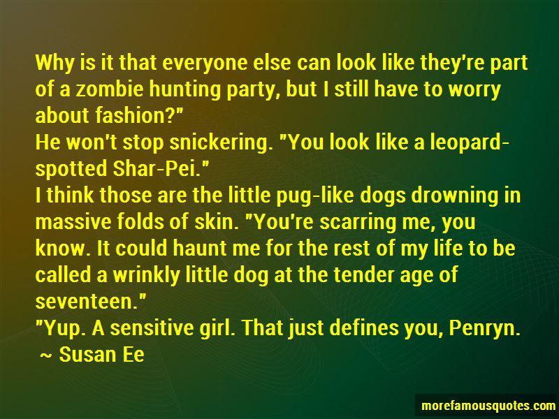 Shar Pei Dog Quotes