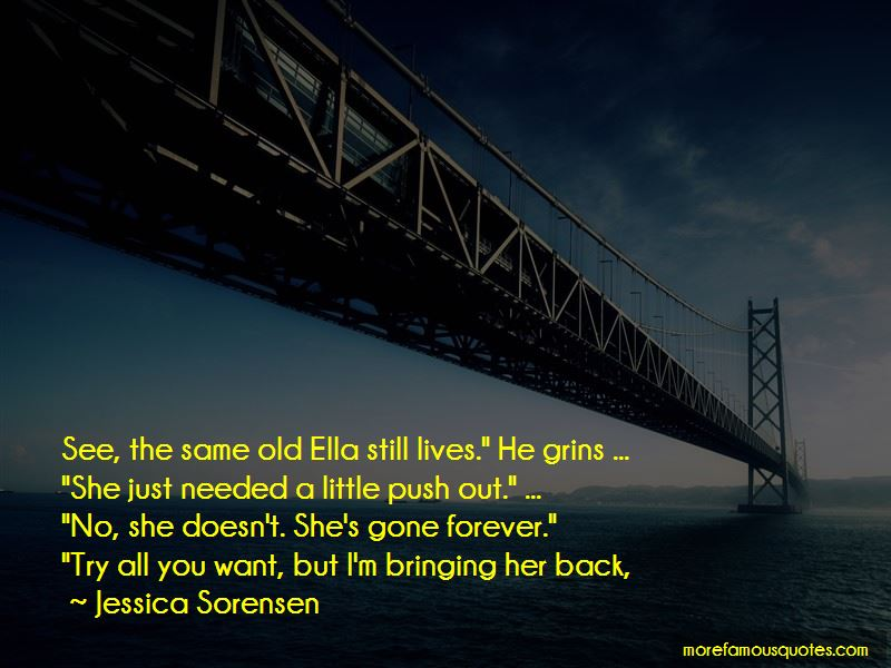 She's Gone Forever Quotes Pictures 2
