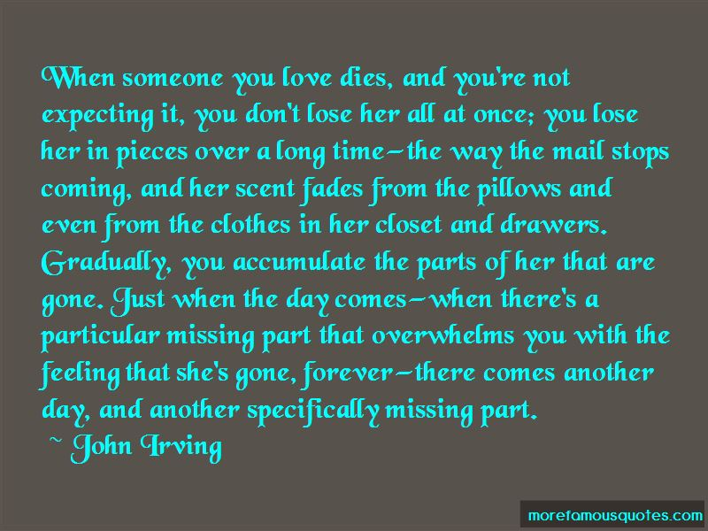 She's Gone Forever Quotes