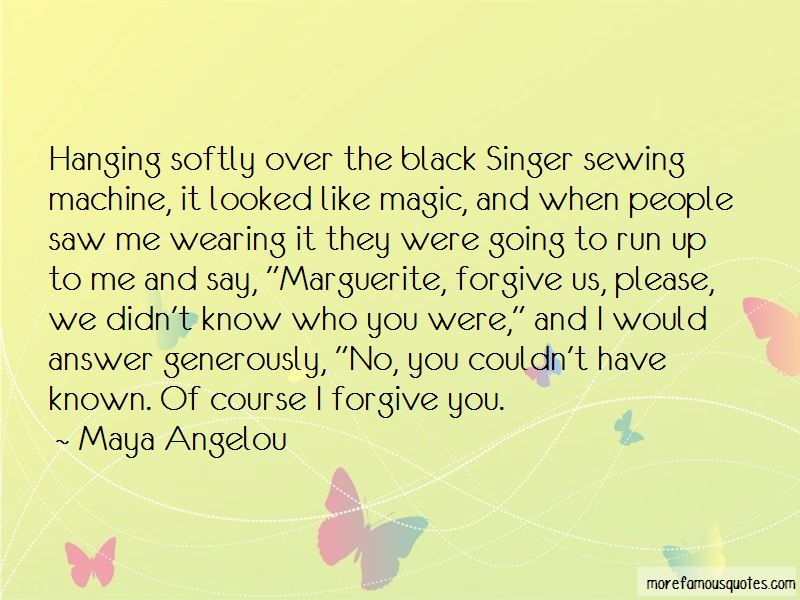 Singer Sewing Machine Quotes