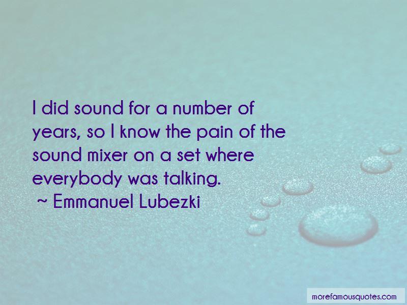 Sound Mixer Quotes