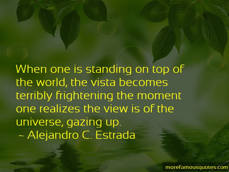 Standing On Top Of The World Quotes