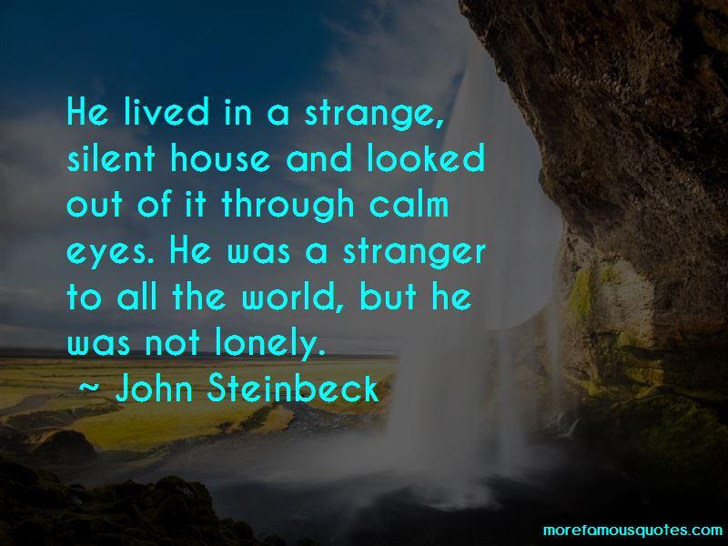 Stranger In A Strange World Quotes