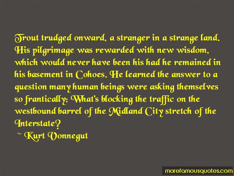 Stranger Strange Land Quotes Pictures 4