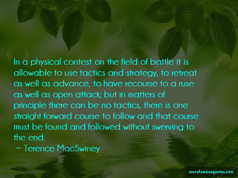 Strategy Without Tactics Quotes Pictures 2
