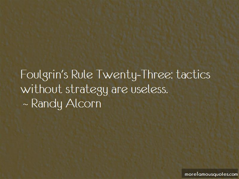 Strategy Without Tactics Quotes Pictures 3