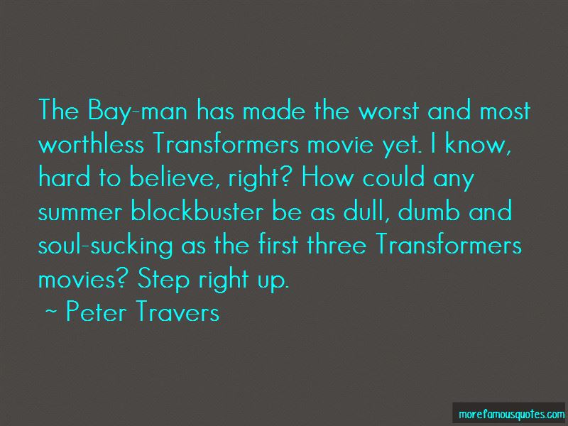 Summer Blockbuster Movie Quotes Pictures 2
