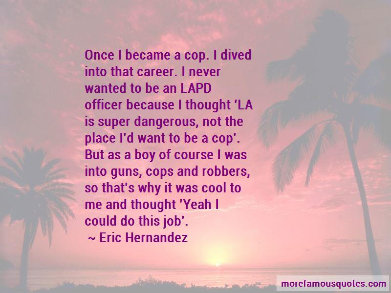 Super Cop Quotes