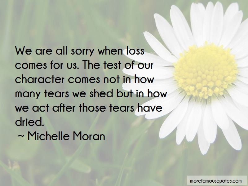 Tears Have Dried Quotes