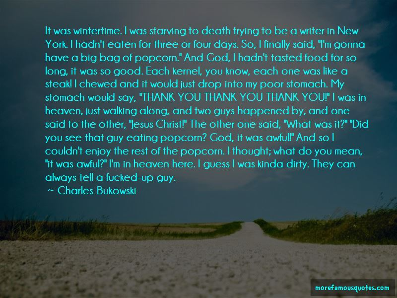 Thank You Popcorn Quotes